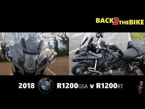 2018 BMW R1200GS Adventure v R1200RT