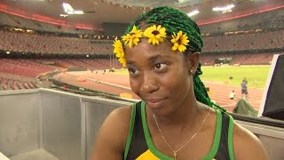 WCH 2015 Beijing - Shelly Ann Fraser Pryce JAM 100m Final Gold