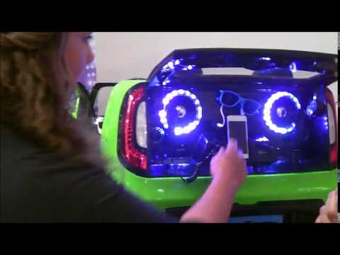 Kia Kid Trax Soul Sing Along DJ Ride-On Car
