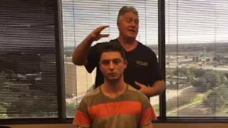 Houston Chiropractor Dr Gregory Johnson Adjusting YouTuber For First Time