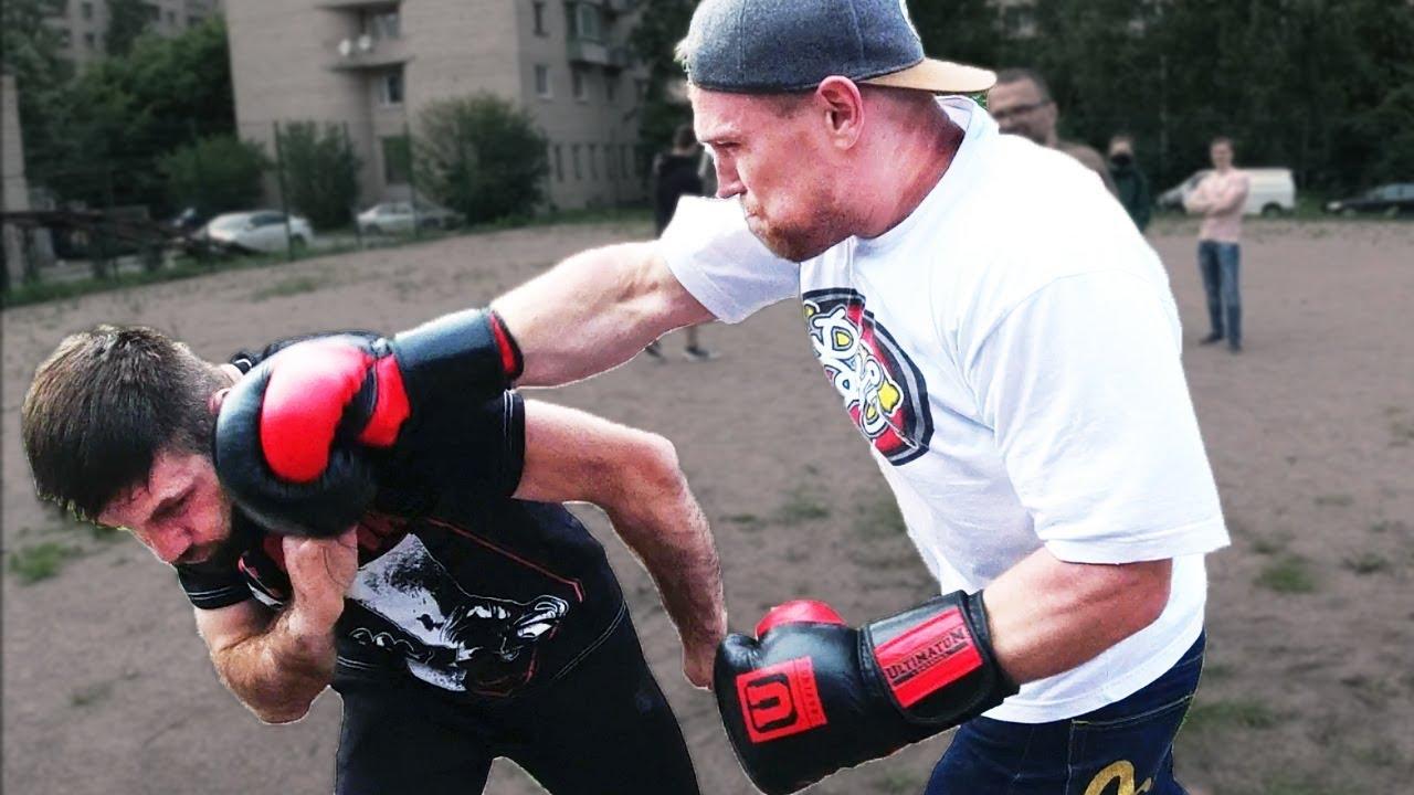 Попробуй выруби боксера / Добряк, Дядя Сережа, Железный Рейтинг, Федор Комикс против МС по боксу