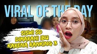 VIRAL HARI INI: Video Seorang Anak SD Dimarahi Ibu karena Ranking 3