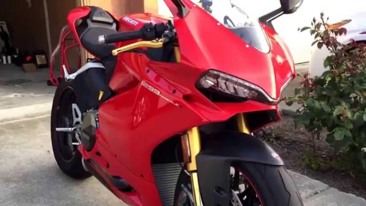 Ducati Panigale 1299s Custom Youtube