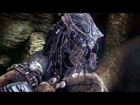 Predator And Aliens Ancient History Battle Scene – Aliens Vs Predator Game