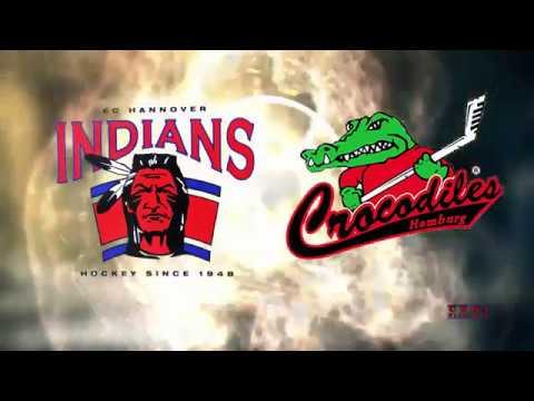 Eishockeyoberliga Nord: EC Hannover Indians vs Crocodiles Hamburg