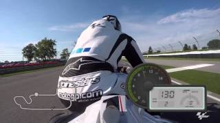 GoPro: Round 9 Indianapolis, USA Dylan Gray Track Preview MotoGP 2015