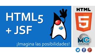 HTML5 + JSF