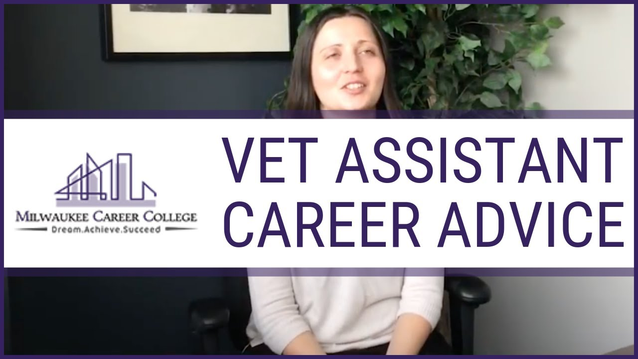 Career Advice From Vet Assistant Training Graduate Youtube