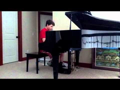 Zac Brown Band Colder Weather Piano Cover by Aidan Dillon