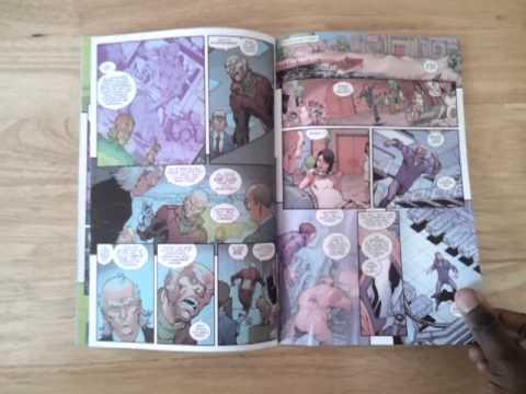 Unboxing Guarding the Globe #1 (Image Comics)