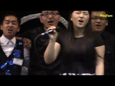 Mai Der Yang Sung With Everyone  - 2016 HUSA CSUS 13th Annual Culture Show