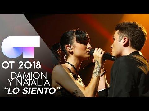 LO SIENTO - DAMION y NATALIA   Gala 3   OT 2018