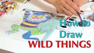 Wild Things Drawing - Great Artist Mom