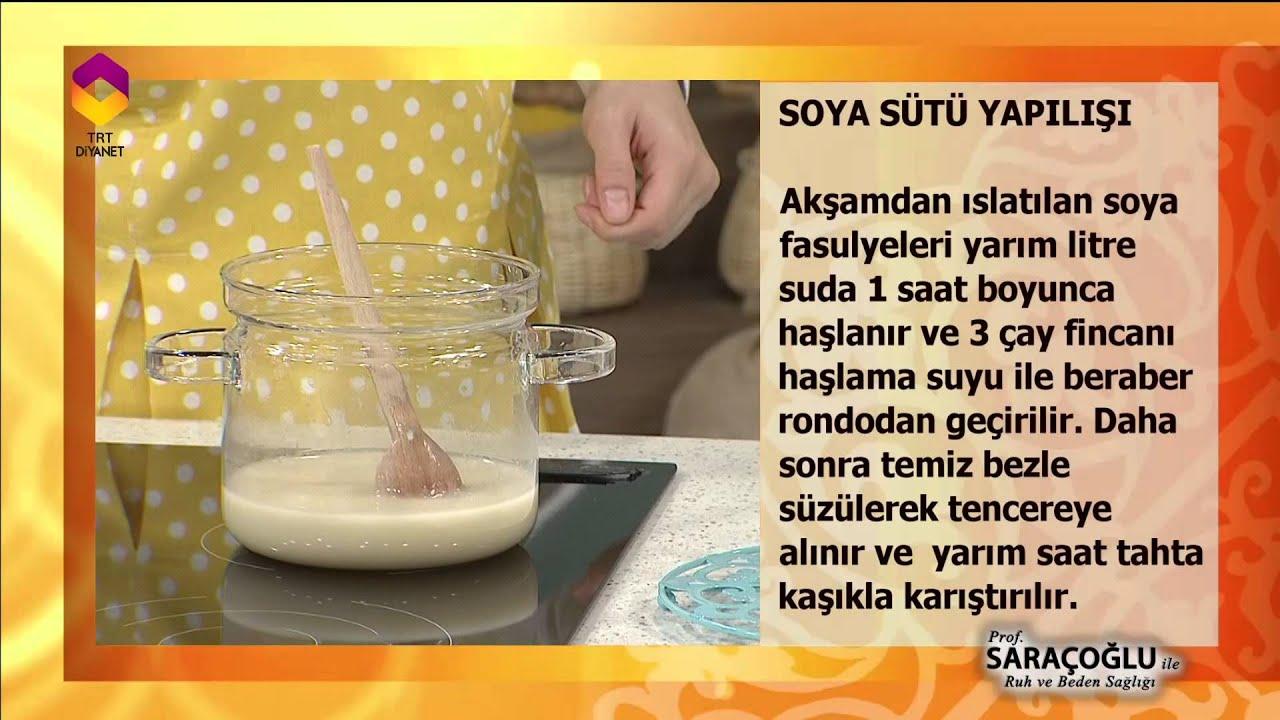 Soya Sütü Faydaları ve Zararları