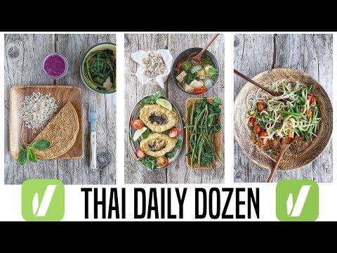 thai-daily-dozen-|-veganuary-+-wfpb-breakfast-+-lunch-+-dinner-(dr.-greger-daily-dozen)