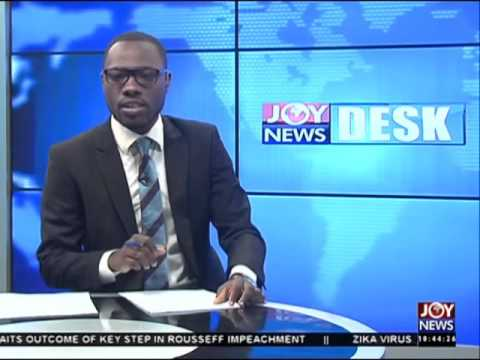 Unemployed graduates - News Desk on Joy News (12-4-16)