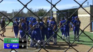 Angelo State Rams and Rambelles Highlights Mar 9-11, 2018