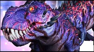 Jurassic World: The Game - Omega 09 T-Rex Tyrannosaurus World Boss Battle