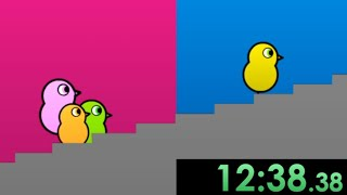 I decided to speedrun Duck Life 2 and graciously shattered the dreams of my competition