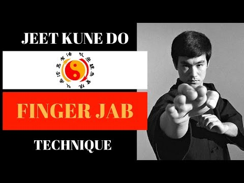 Jeet Kune Do Technique - JKD Finger Jab