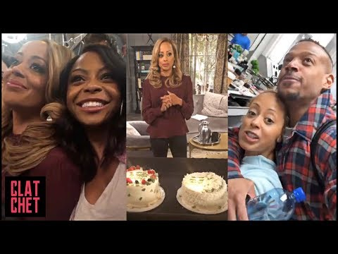 Happy 46th! Marlon Cast Surprises Essence Atkins