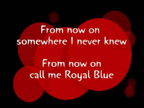 Royal Blue (Cold War Kids) HQ + Lyrics