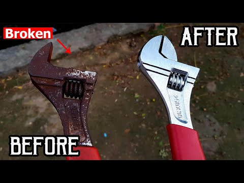 OLD RUSTY WRENCH RESTORATION