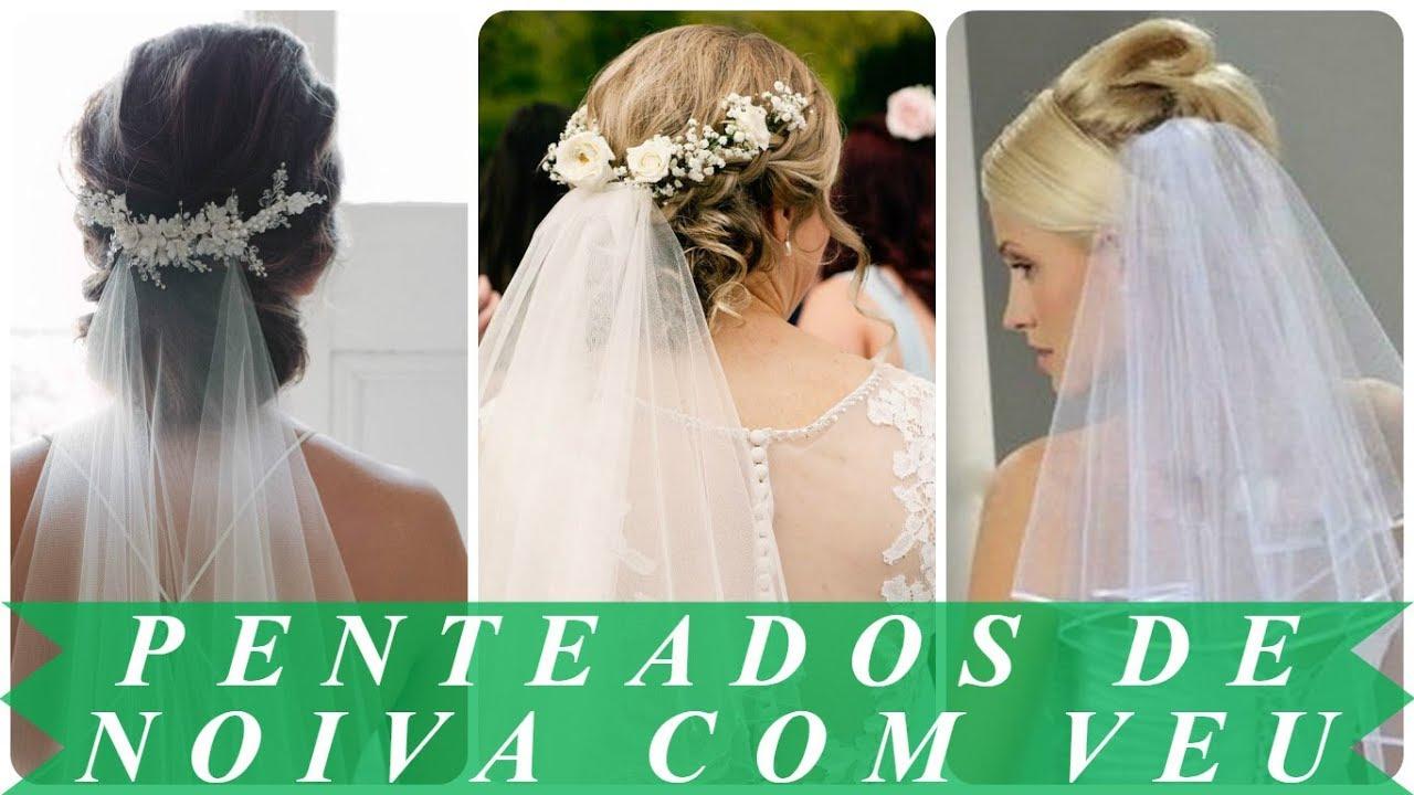 Penteados Modernos De Noiva Com Tiara E Veu 2018