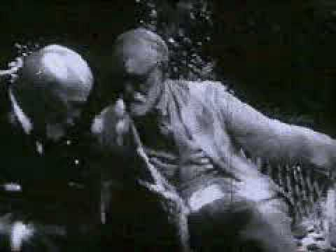 Sigmund Freud in conversation with the archaeologist Emanue