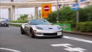 未公開映像集 青山の高級車、並木のF50、ガムボール3000大黒PA、お...