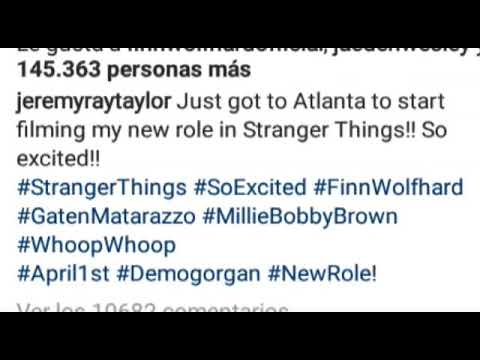 Jeremy Ray Taylor en Stranger Things