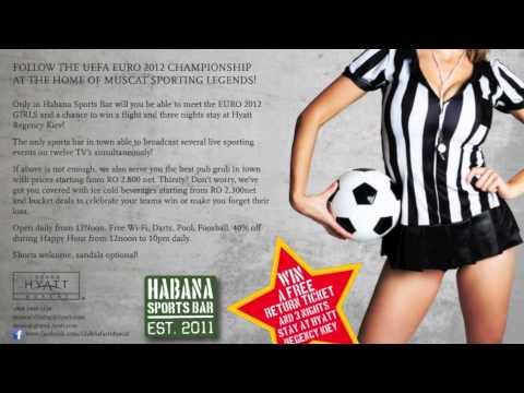 Grand Hyatt Muscat Habana Sports Bar EURO 2012
