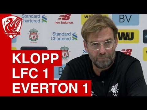Liverpool 1-1 Everton: Jurgen Klopp Post Match Press Conference