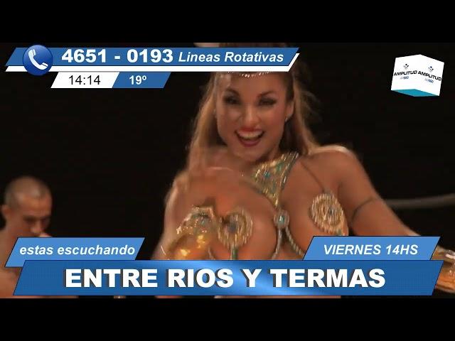 entre rios y termas (12 4 19) el programa radial/televisivo de turismo y cultura de Entre Ríos