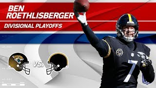 Ben Roethlisberger's Unbelievable 5 TDs! | Jaguars vs. Steelers | Divisional Round Player HLs