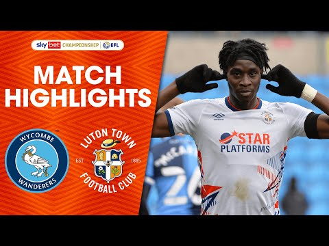 Wycombe Luton Goals And Highlights