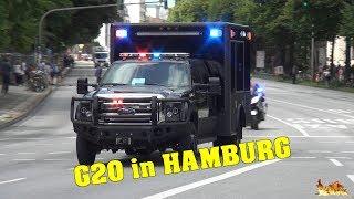 [G20 GIPFEL IN HAMBURG] - Donald Trumps US-Delegation & weitere Ländervertreter zum Gipfeltreffen