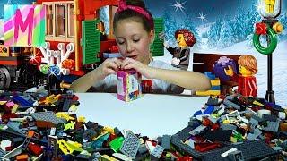 Поезд и машинист MILA HOUSE LEGO ЛЕГО и не только