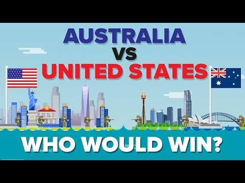 Australia vs United States (USA) 2017 - Who Would Win? Military Comparison