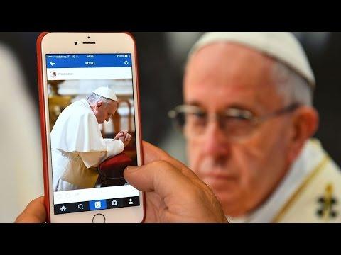 Giáo Hội Năm Châu 22 – 28/03/2016: Account Instagram của Đức Thánh Cha Phanxicô