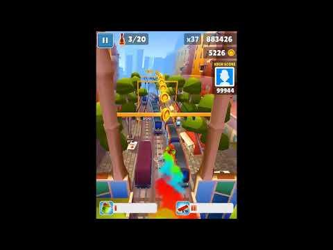 Subway Surfers Barcelona iPad Gameplay HD #1