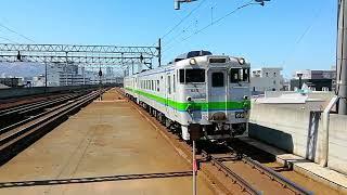 JR北海道 札沼線(学園都市線)キハ40回送 桑園駅 2020-04-17