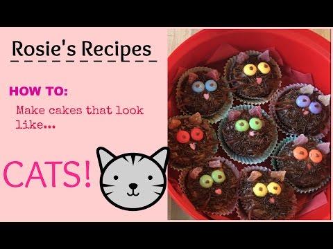 CAT CAKES! | Rosie Cole