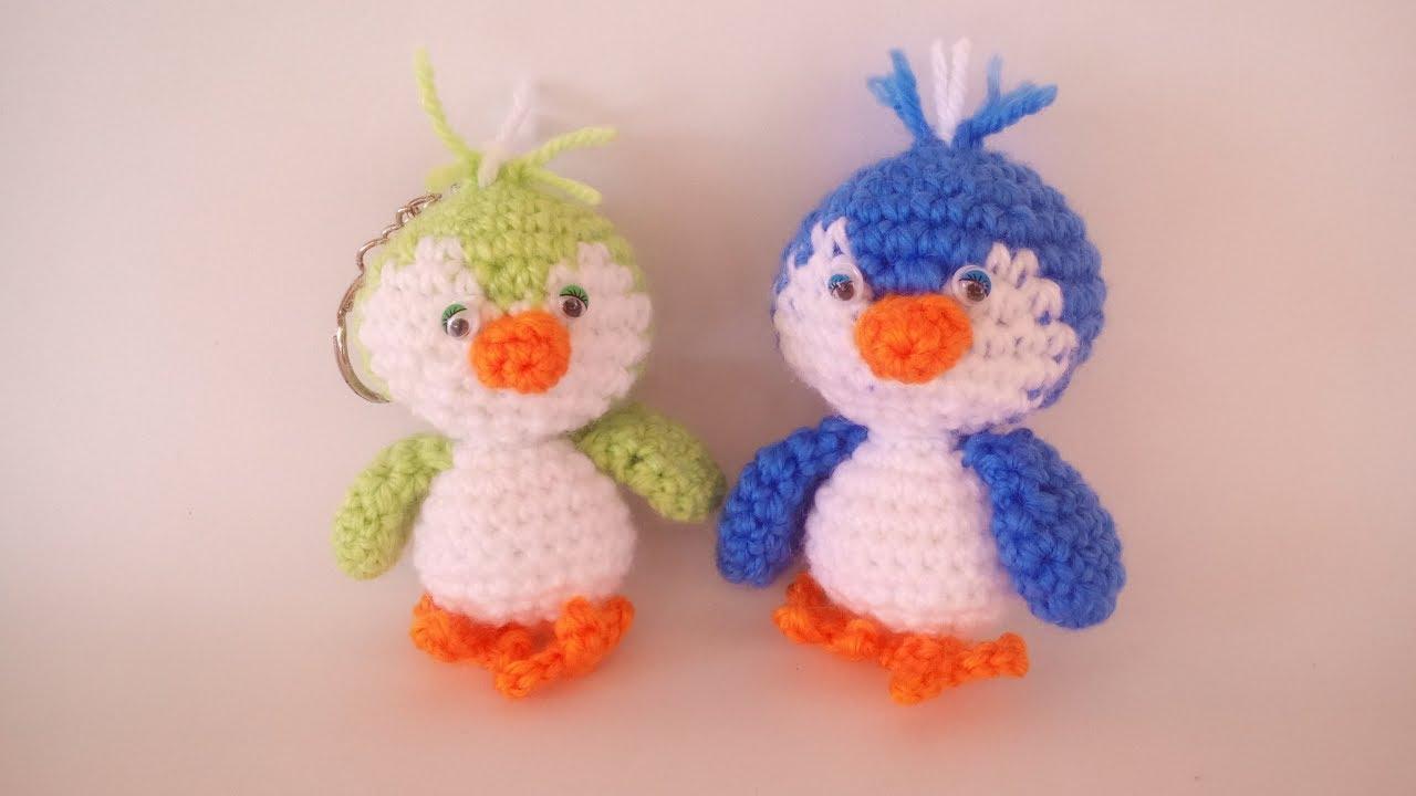 Amigurumi Schemi Italiano Gratis : Uccellino uncinetto amigurumi tutorial bird crochet pajarito
