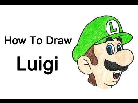 How To Draw Luigi Mario Bros