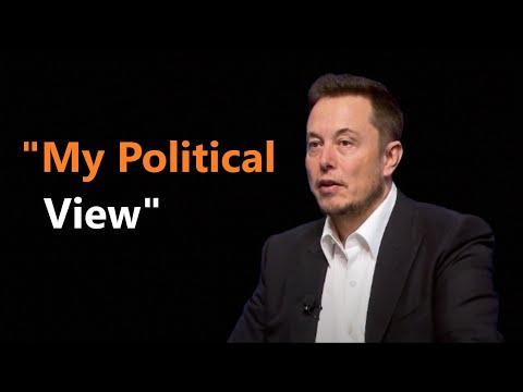 Elon Musk - My Political View