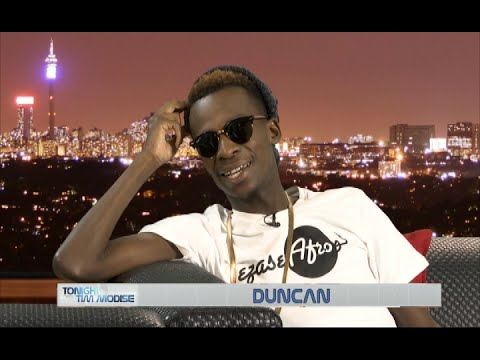 Tonight with Tim Modise |  Duncan, SA Rapper & Afrotainment Artist