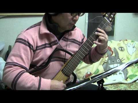 Love Love Love【music:Masato Nakamura  arr:Noriyasu Takeuchi】【演奏:宮本】【ギターソロ】【現代ギター添付楽譜より】