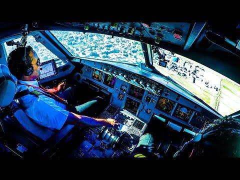 Piloting A320 into Mashhad, Iran