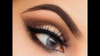 видео Вечерний макияж для карих глаз: пошаговое фото и подходящие оттенки